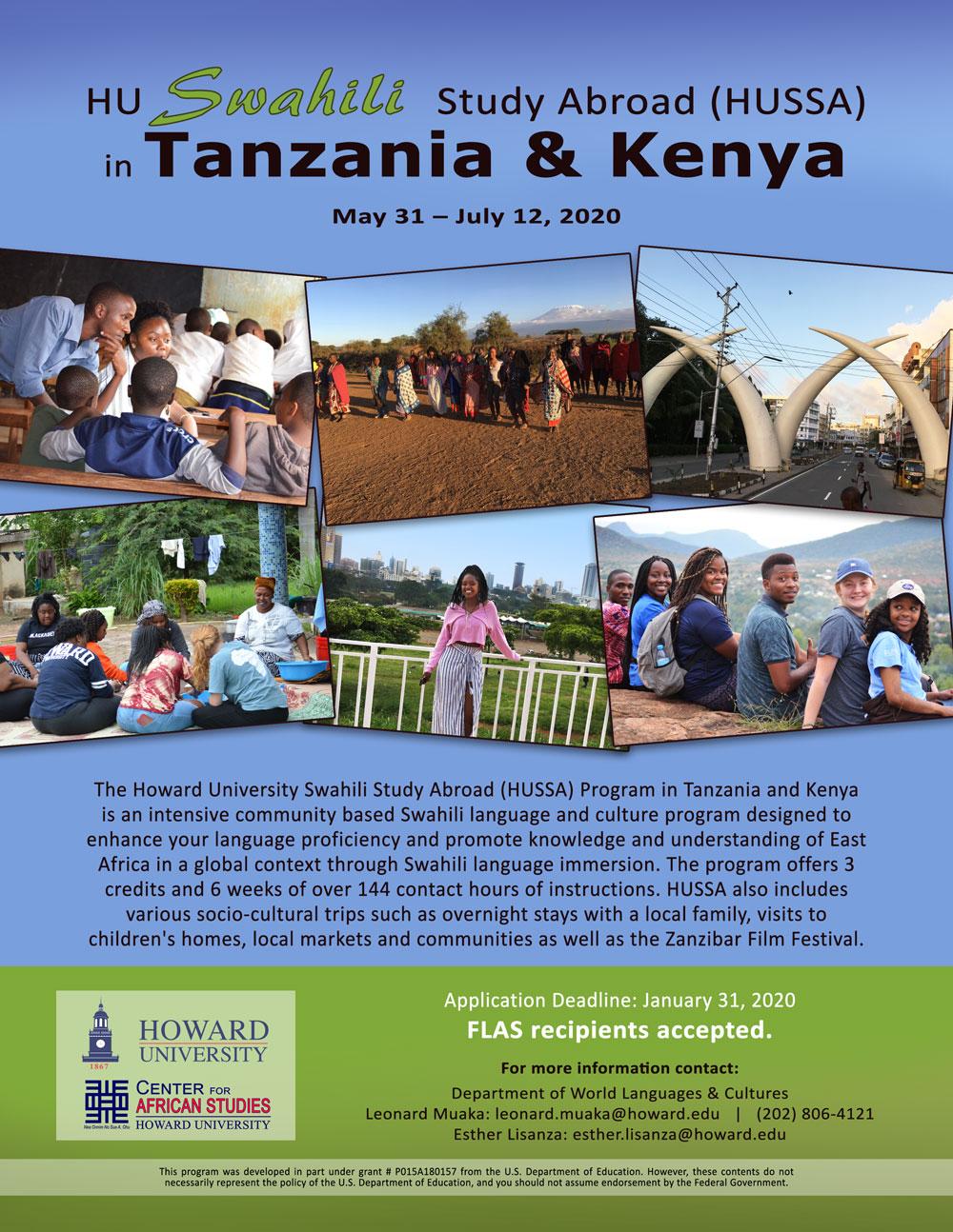 HU-Swahili-Study-Abroad-HUSSA-Program-2020